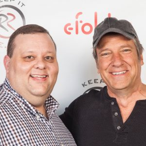 The one and only Mike Rowe!